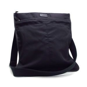 Coach Unisex Nylon Twill Large Messenger Bag